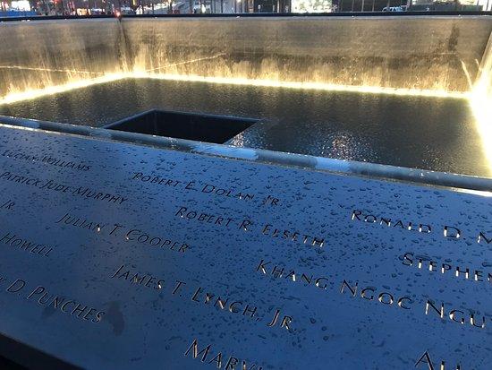 9/11 Tribute Museum Admission Ticket: Becken