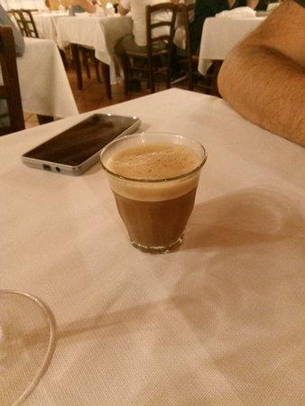 Pontevico, Italy: Caffè della casa.