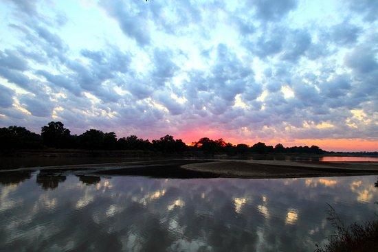 Northern Province, Zambia: Luangwa river view