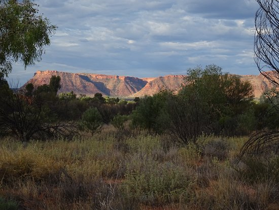 Kings Canyon, Avustralya: promenade du soir