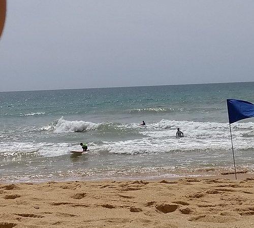 """Αλμπουφέιρα, Πορτογαλία: With """"Albufeira Adventure"""" Surf is fun :) :) :)"""