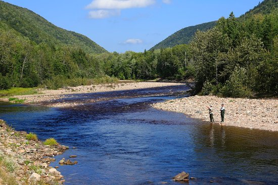 Margaree Forks, Canadá: Margaree river.