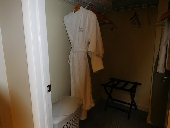 GullWing Beach Resort: walk in closet in king room