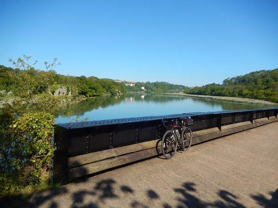 Devon, UK: A bridge crossing - Just up river from Bideford
