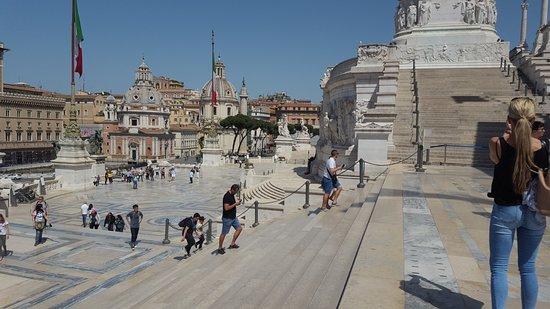 Roma Dal Cielo Terrazza Delle Quadrighe Rome 2020 All