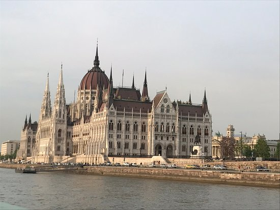 Danube River: Parliament from the Danube
