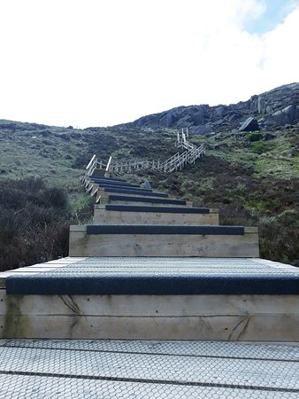 Cuilcagh Legnabrocky Trail: on the way to the top