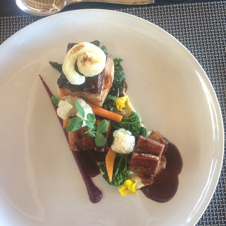 Sir Lowry's Pass, África do Sul: Slow cooked pork belly
