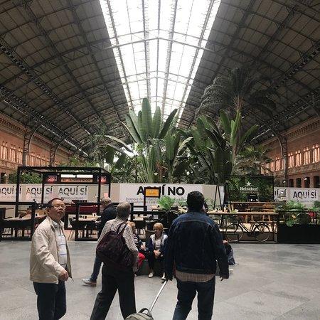 Σιδηροδρομικός σταθμός Ατότσα (Εστασιόν Ατότσα) Φωτογραφία