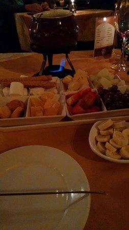 Restaurante Hannover: fondue doce