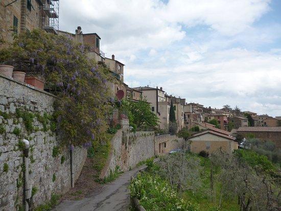 Fortezza di Montalcino: Le mura esterne