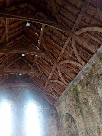 Kilmallock, Irland: one of the roofs refurbished to original spec
