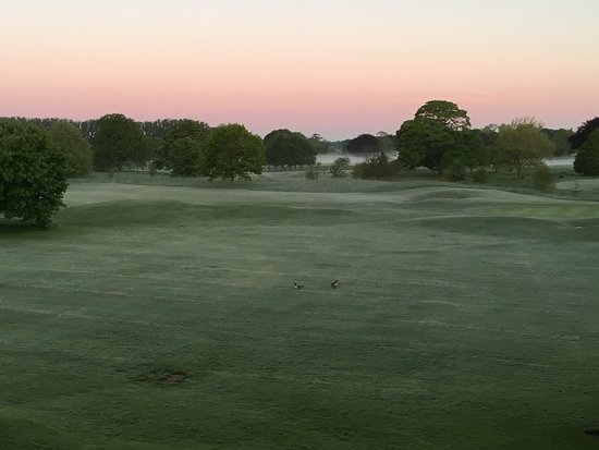 Mottram St. Andrew, UK: MOTTRAM HALL - GOLF COURSE AT 5.00am