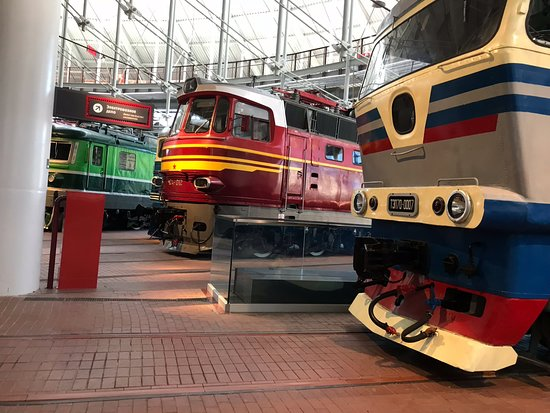 Russian Railway Museum: More modern trains