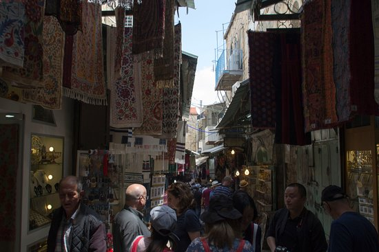 Old City of Jerusalem: folla
