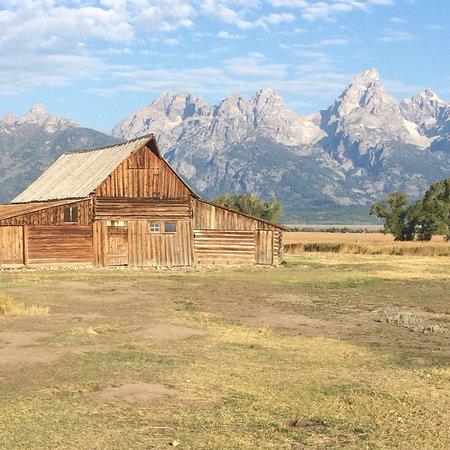 Kelly, WY: T.A. Moulton Barn