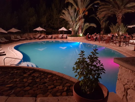 Miliou, Cyprus: Pool - Outside restaurant