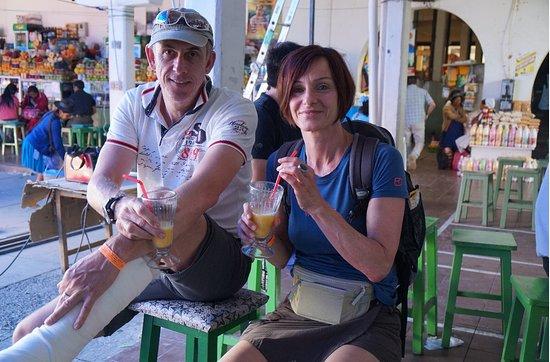 Sucre Spanish School: Mercado central en Sucre