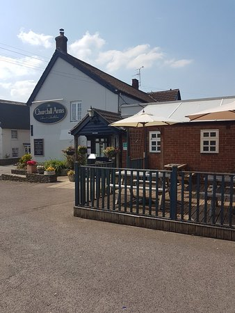 Gorgeous day at the Churchill arms!!!