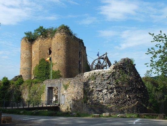 Theux, Belgia: Château de Franchimont 06
