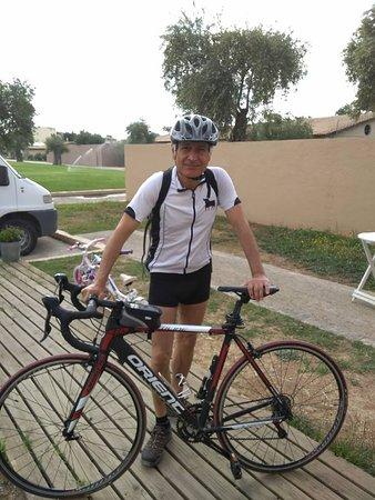 Corfu Bicycles: Road Redline, Carbon fork