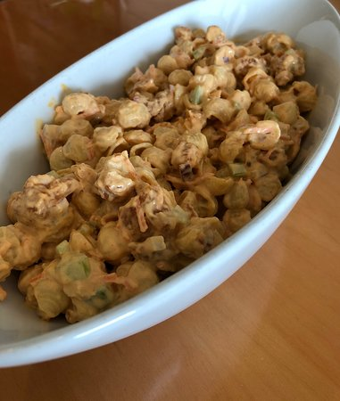 Buffalo Chicken Pasta Salad available in our deli case