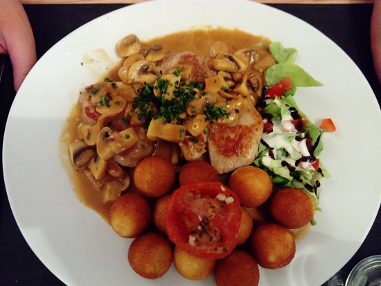 Bourbonne-les-Bains, France: autre plat pris par mon accompagnante! idem Régal absolu!!!!