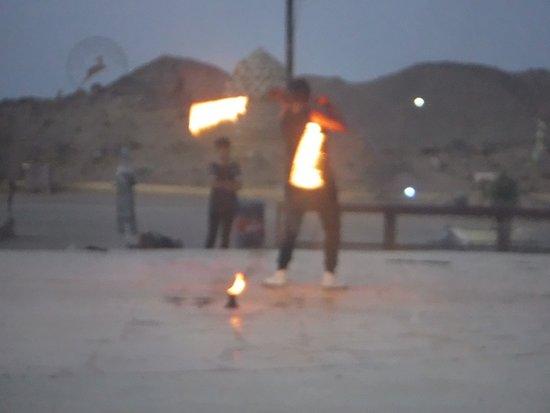 Falcon Adventure - Hurghada: Fire show