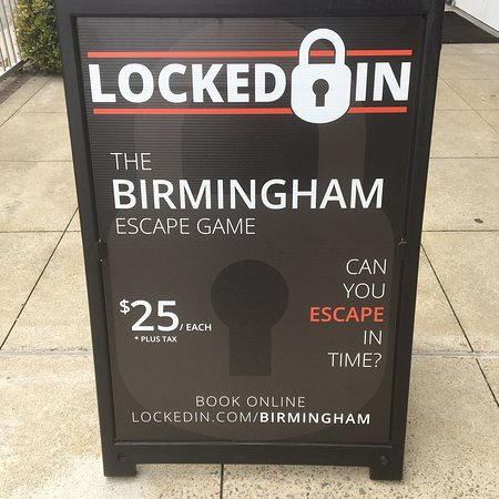Locked Room Game Birmingham