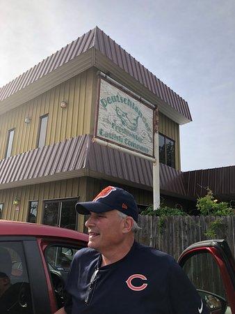 Buffalo Gap, TX: My husband looking forward to some great catfish!
