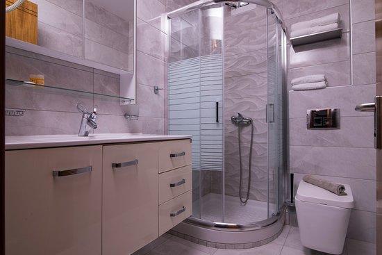 Hotel Maistrali: Badezimmer