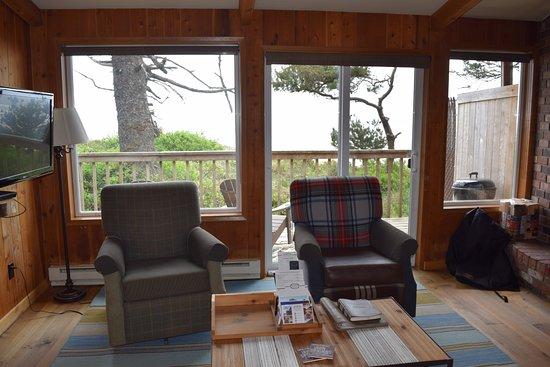 Copalis Beach, WA: Cabin 26 interior