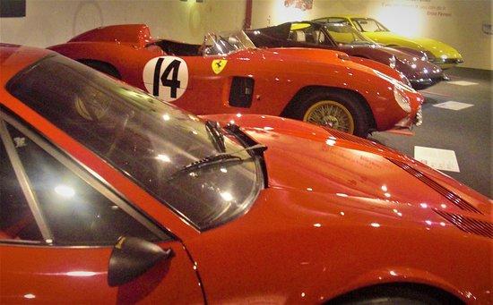 Museo Ferrari: some of the handfull