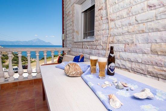 Hotel Maistrali: Balkon mit Aussicht