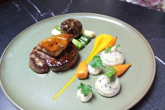 Deans Restaurant: Fillet Steak Rossini