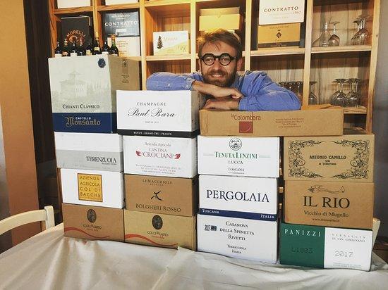 Capannoli, Italië: Selezione di vini
