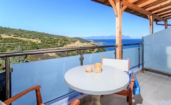 Hotel Maistrali: Berg Athos Aussicht