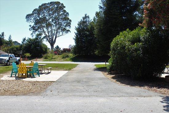 La Selva Beach, Kalifornia: Deluxe Pull Thru RV  Site