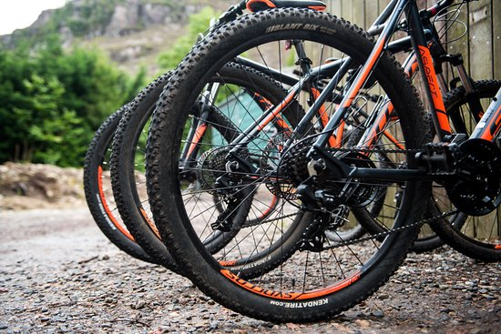 Torridon, UK: Mountain bike hire