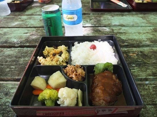 RITC - Rock Island Tour Company - Day Tour in Palau: オモカン島でのランチは洋食弁当