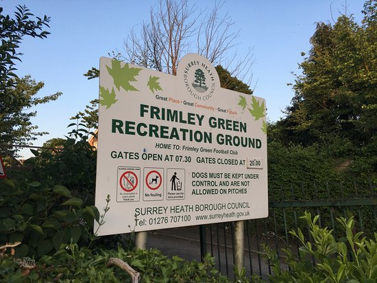 ‪‪Frimley Green‬, UK: Recreation Ground‬
