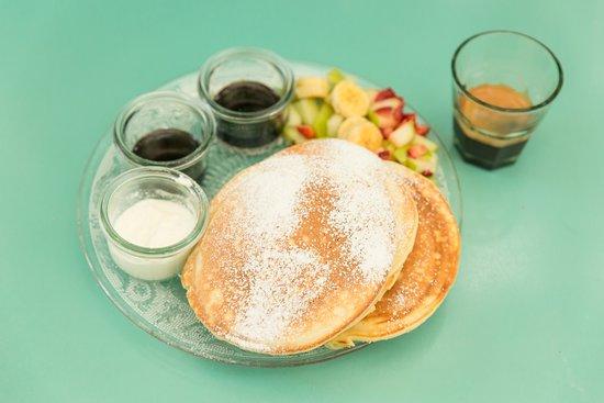 Jonesy Gardener: pancakes