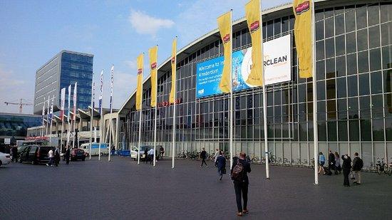 Amsterdam RAI: Outside
