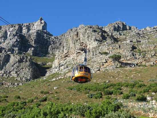 Table Mountain Aerial Cableway: Cable car