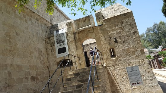 Limassol Castle: going up