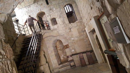 Limassol Castle: 2 levels inside