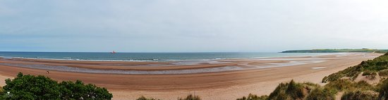 Lunan Bay beach, just down from the diner