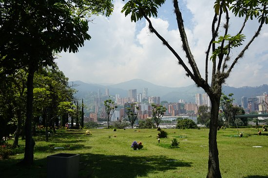 Private Half-Day Pablo Escobar Godfather Tour in Medellin: View from the cemetery.