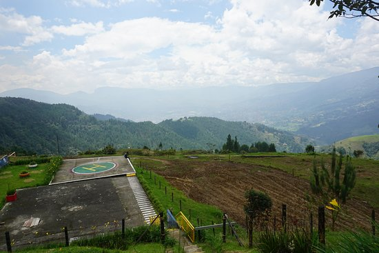 Private Half-Day Pablo Escobar Godfather Tour in Medellin: View from La Catedral