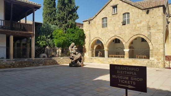 Μουσείο Λαϊκής Τέχνης Κύπρου: the back of the folk museum